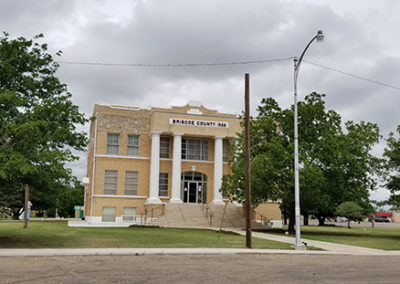 Brisco County Courthouse, texas