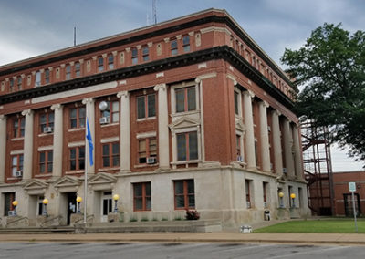 Okmulgee County Courthouse, ok